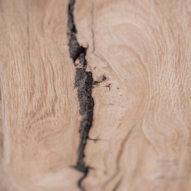 Holz lebt - einzigartige Maserung und Struktur