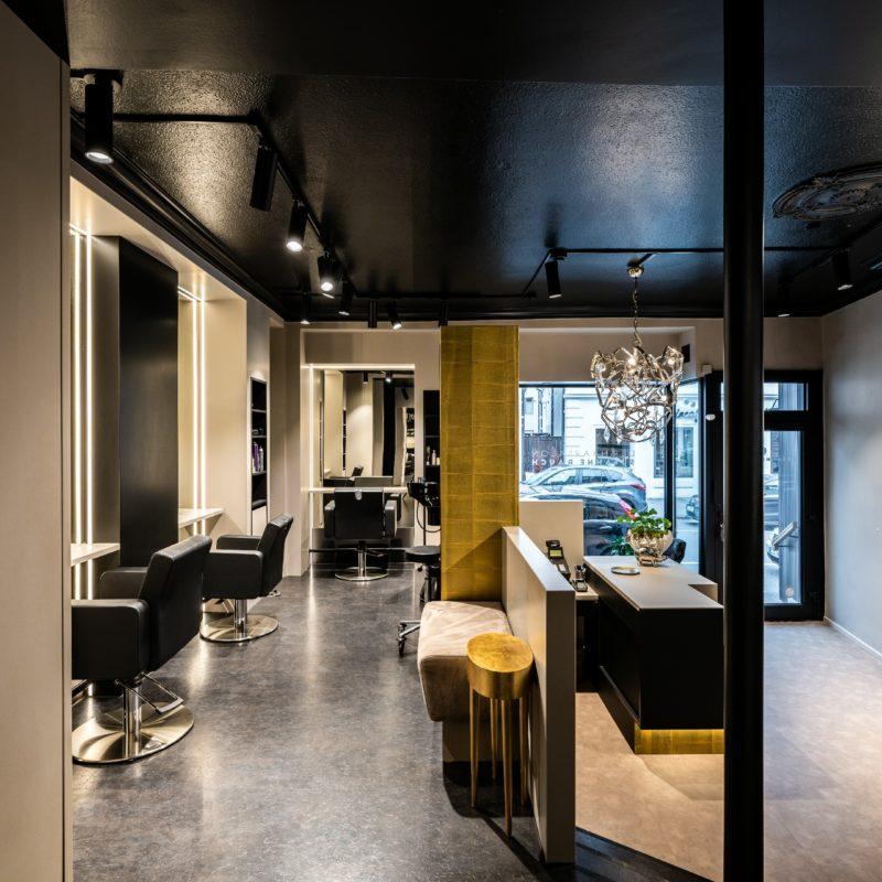 Hairstyling - Frisörsalon <br/> Gesamtgestaltung