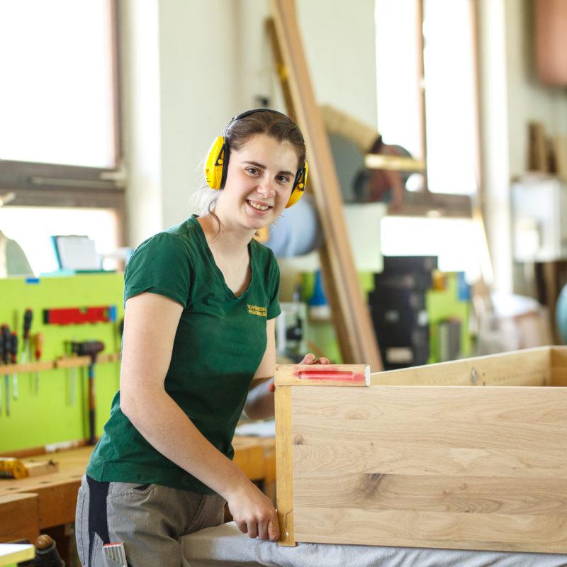 Zupackend - Silke Amann<br/>mit einem Händchen für Massivholz